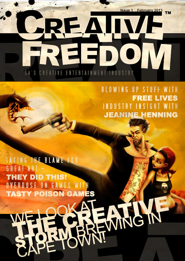 Creative Freedom - Issue 1 - February 2013