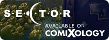 SECTOR available on Comixology